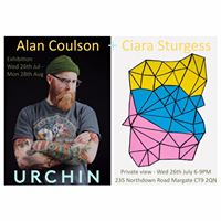 Alan Coulson &amp Ciara Sturges Private View 26th July 6-8.30PM