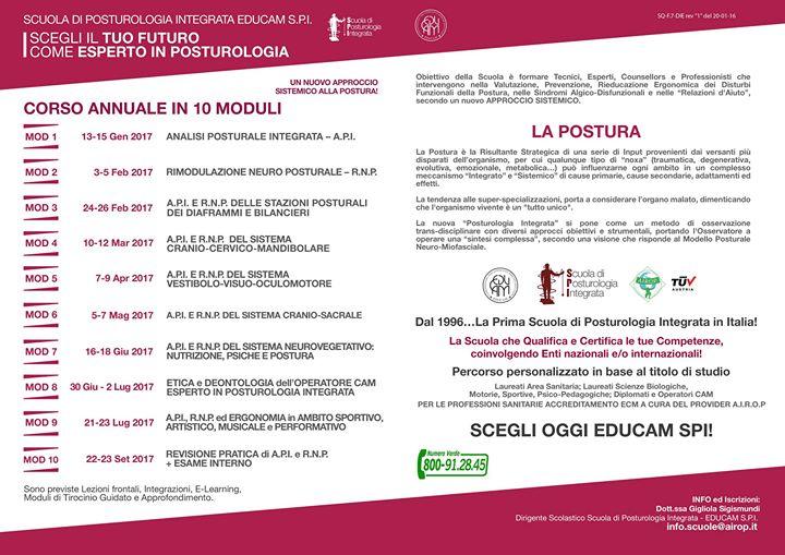 Scuola di Posturologia Integrata Educam SPI