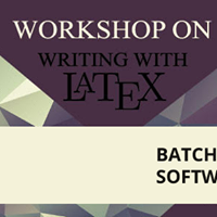Workshop on &quotWriting with LaTex&quot For SED