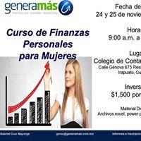 Curso Finanzas Personales para Mujeres
