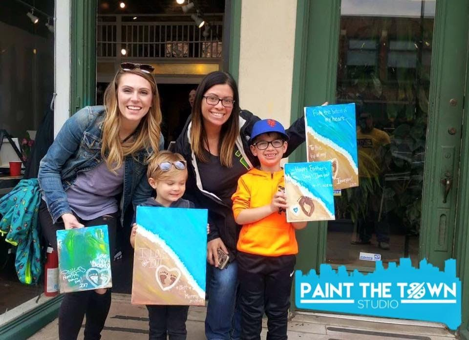 Open Class Mommy Me Painting Class At Paint The Town Buffalo