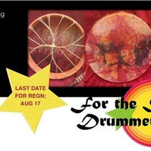 Spirit drum-making workshop