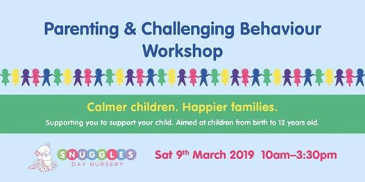 Parenting & Challenging Behaviour Workshop