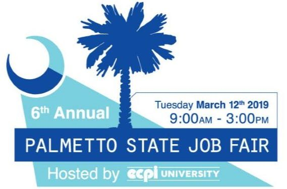 6th Annual Palmetto State Job Fair Hosted by ECPI (Employer Registration)