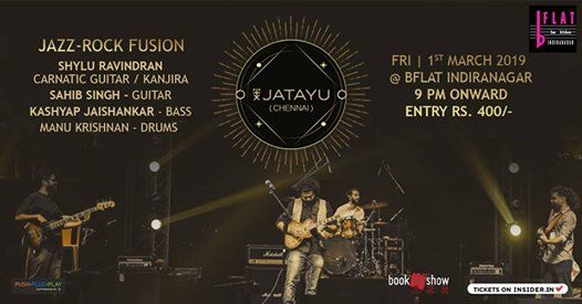 Jatayu (Chennai) Jazz-Rock Fusion