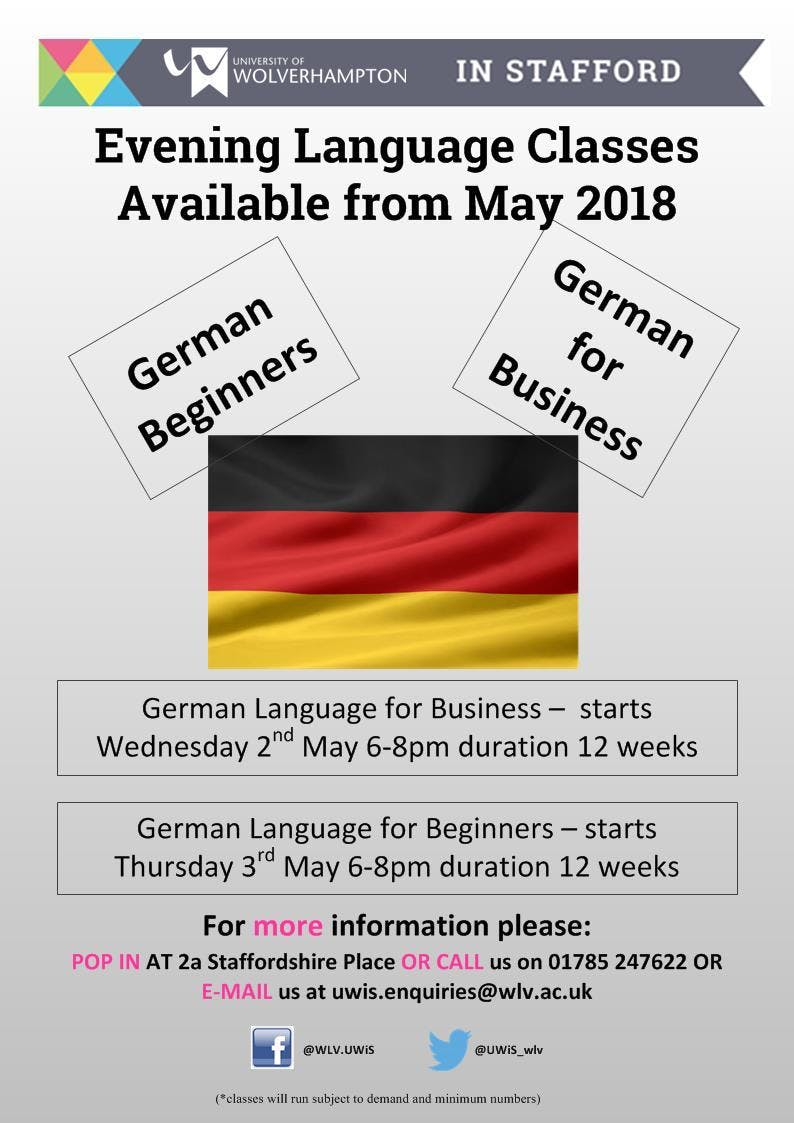 German Language Beginners Taster SessionMeet the Tutor