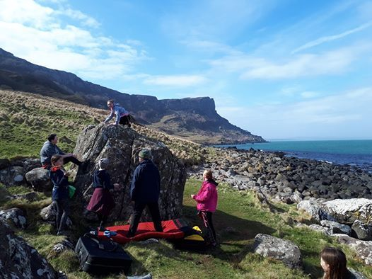 Belfast Youth Climbing Club - Murlough Bay Bouldering