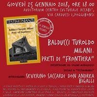 Preti di &quotfrontiera&quot con don Andrea Bigalli e Severino Saccardi