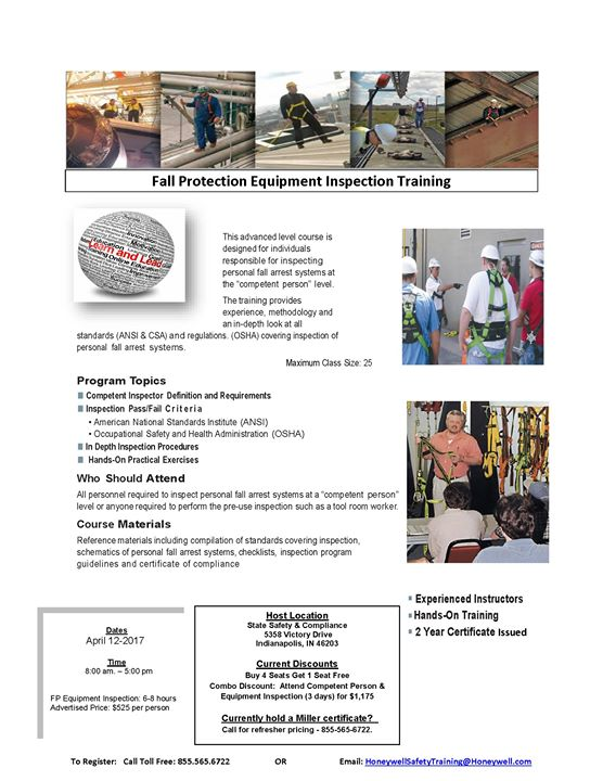 Professional Fall Protection Equipment Inspection Training
