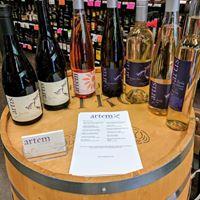 Chris James Cellars  Artem Wine Company at Safeway-McMinnville