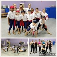 To The Pointe Company Showcase 2018 with UNC Dance Team