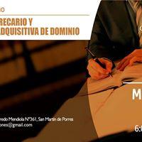 I Jornada de Derecho (Lima Norte) Desalojo y Prescripcin