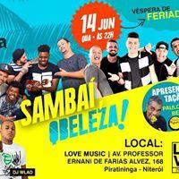 Samba QBeleza 14 de Junho (Vspera de feriado)