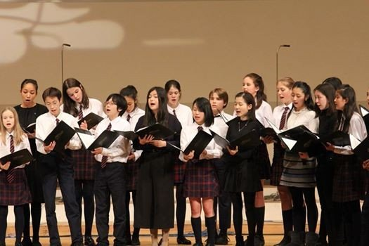 A Celebration of British Choral Music by The British School of Tokyo
