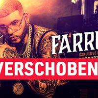 Farruko Turbinenhalle Oberhausen - Verschoben