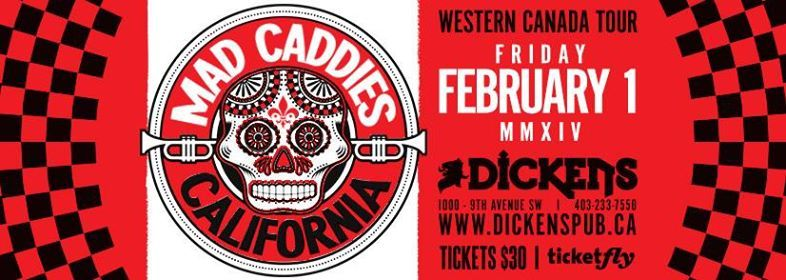 Mad Caddies return to Dickens