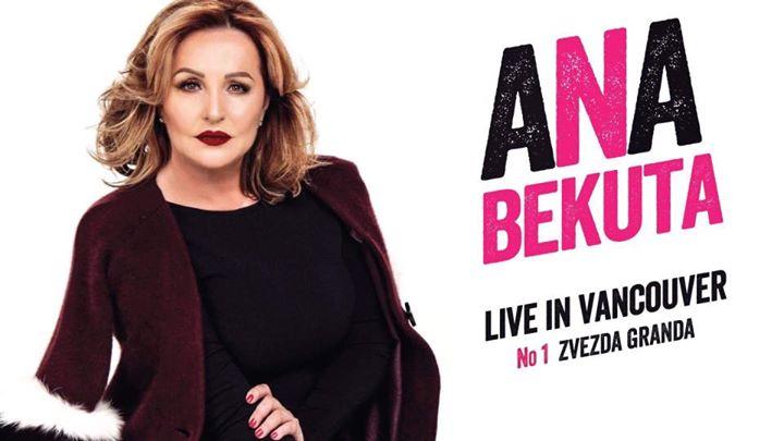 Ana Bekuta Live in Vancouver