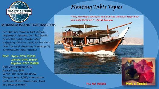 Floating Table Topics