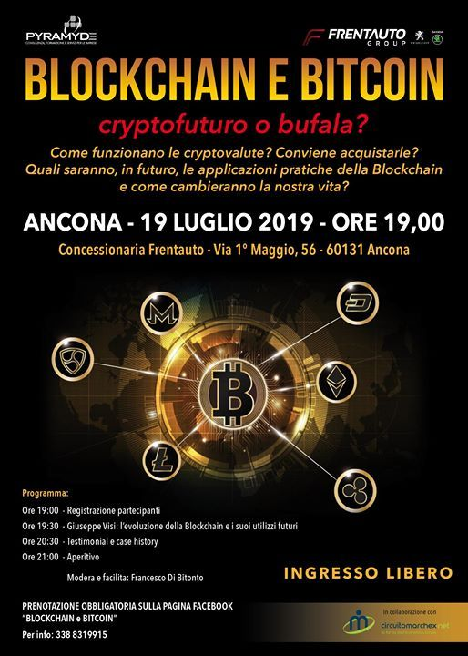 Blockchain e Bitcoin - cryptofuturo o bufala