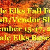 Scottdale Elks Fall Festival Craft Show 2017