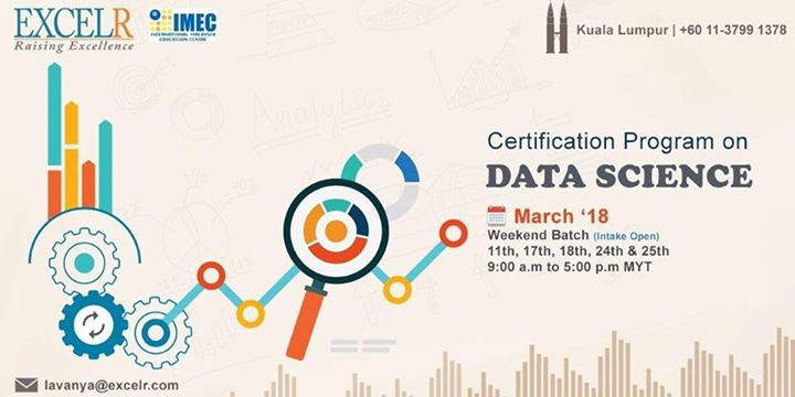 certification program on data science – with the relevant real . at ...