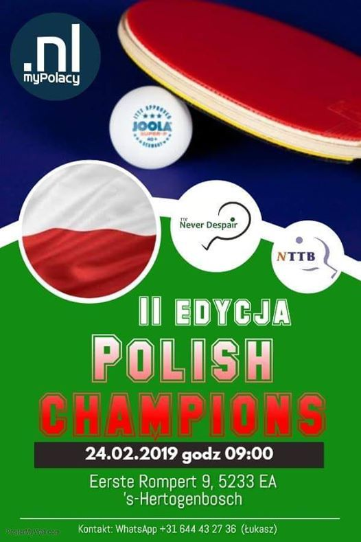 Polish Champions Open 2019