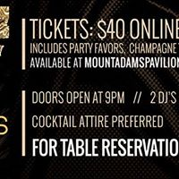 New Years Eve Ball at Mt. Adams Pavilion