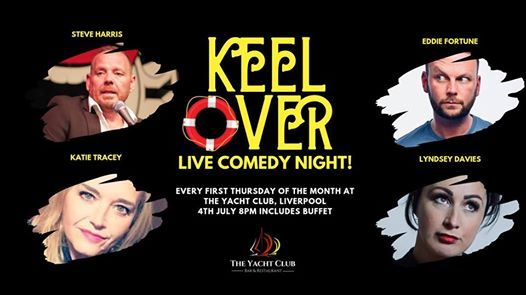 Keel Over Stand-Up Comedy Night! at The Yacht Club Bar & Restaurant
