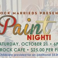 Rock Marrieds Paint Night