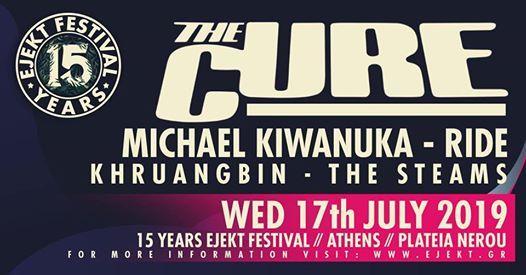 Ejekt Festival 2019 The Cure Michael Kiwanuka Ride Khruangbin