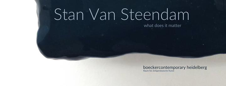 Stan Van Steendam at Boeckercontemporary