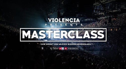 Masterclass Hoe werkt een muziek boeker hedendaags (VOLZET)