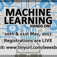 Machine Learning. Hands On