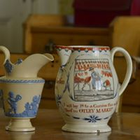 Tea and talk with the Curator. Yorkshire - Pots and People