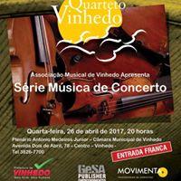 Serie Msica de Concerto-Quarteto Vinhedo-Cordas