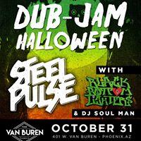 Dub Jam Halloween with Steel Pulse Black Bottom Lighters &amp more