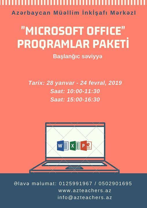Microsoft Office proqramlar - Balanc sviyy