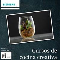 Curso de Cocina Creativa - Patrocinado por Siemens