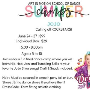 JoJo Siwa Dance Camp