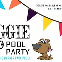 Doggie Dip Pool Party - Swim with your Dog