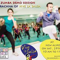 Fun Zumba Demo Session