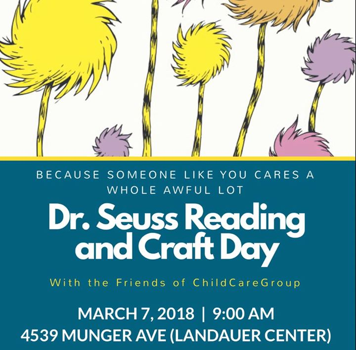 Dr. Seuss Reading and Craft Day