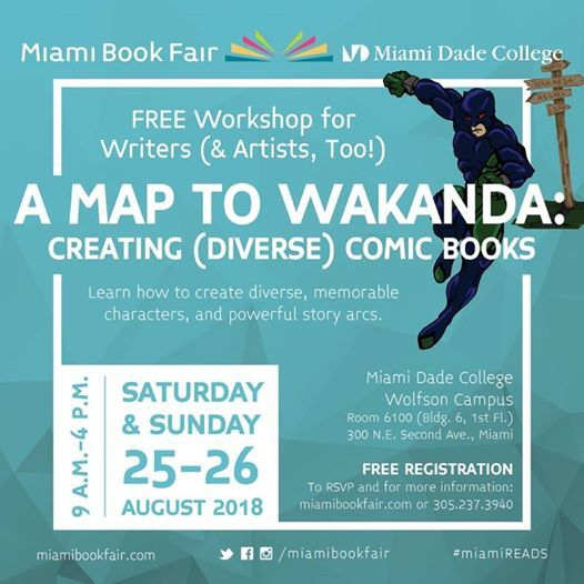 A Map To Wakanda Creating Diverse Comic Books At Miami Dade