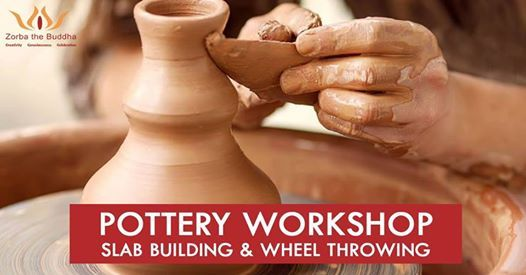 Pottery Workshop - Slab Building and Wheel Throwing
