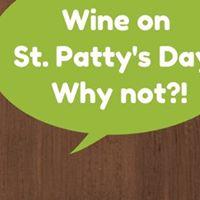 A St. Patricks Wine Tasting
