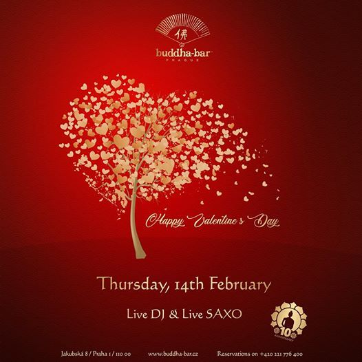 Valentines Day at Buddha-Bar