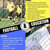Football and Education Information Evening