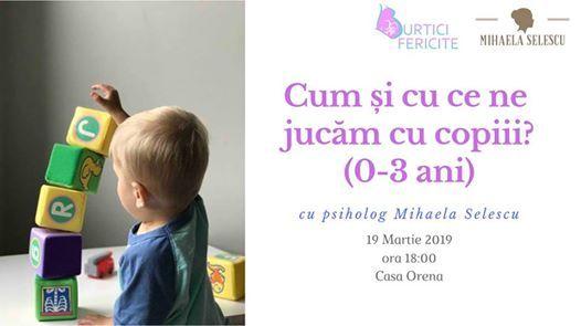 Cum i cu ce ne jucm cu copiii [Cluj-Napoca]