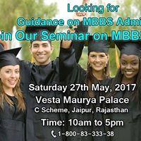 MBBS Admission Guidance Seminar in Jaipur