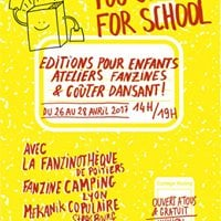 TOO COOL for School  Fanzines pour petits &amp grands